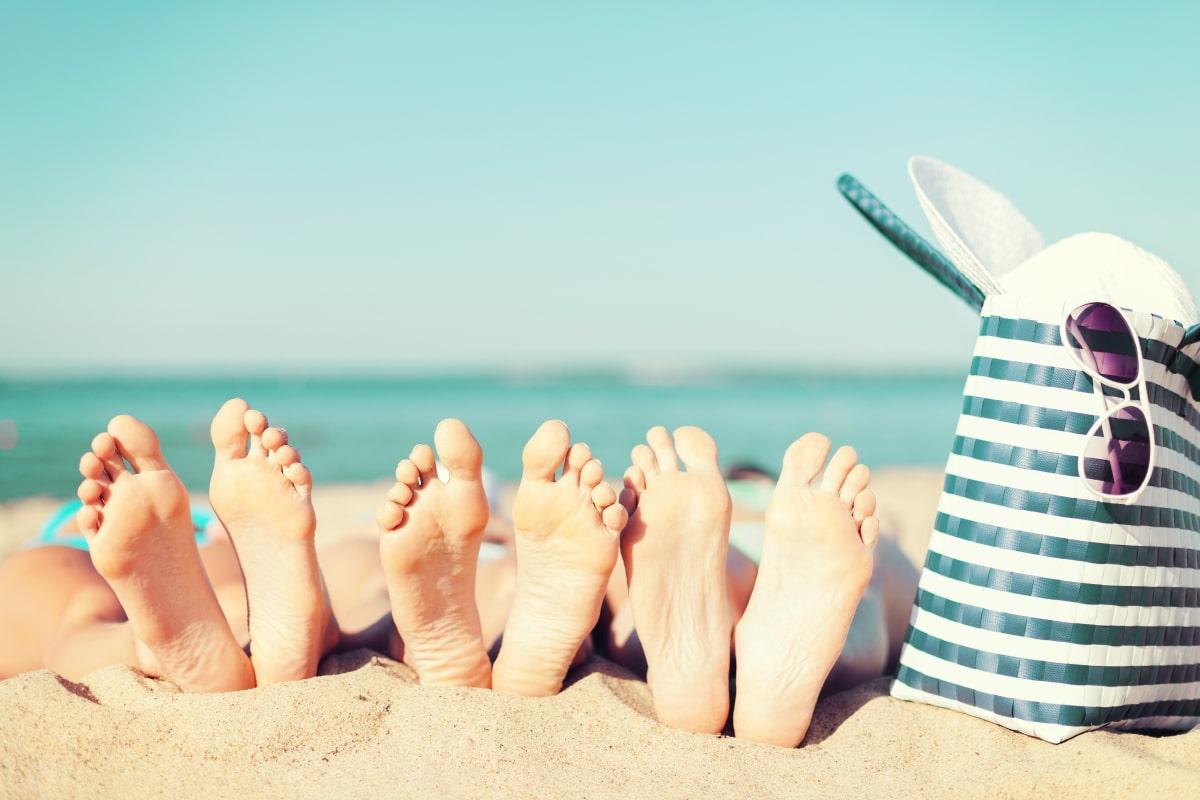 """Lato – ach to ty"""", czyli o wakacjach """"pełną stopą"""""""
