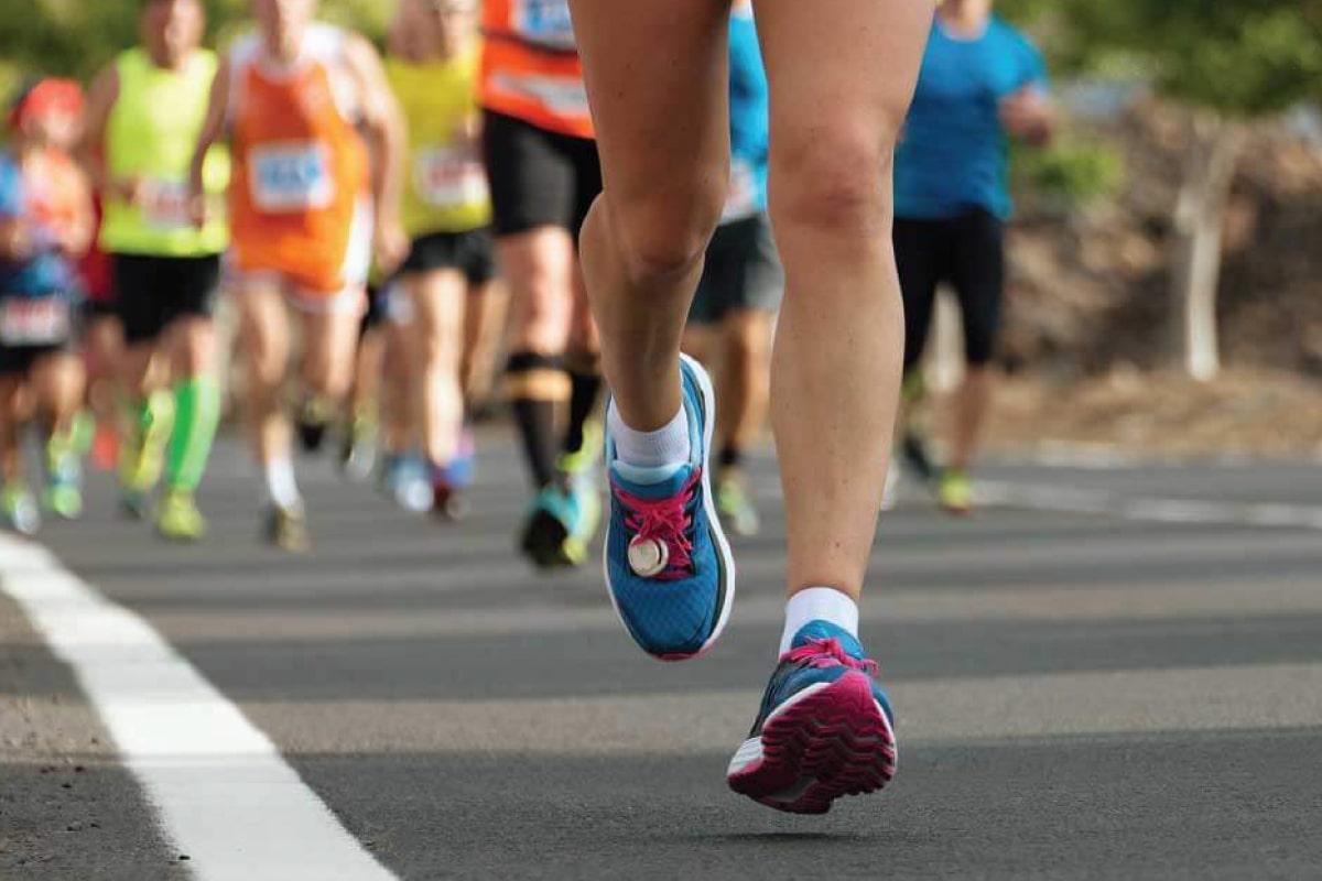 Stopa biegacza